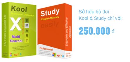 Combo Từ điển thông minh Kool Study giúp bạn học tiếng Anh dễ dàng, nhanh chóng, thú vị và rất hiệu quả.